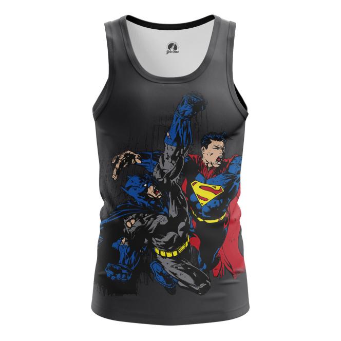 Мужская Майка Бэтмен против Супермена - купить в teestore