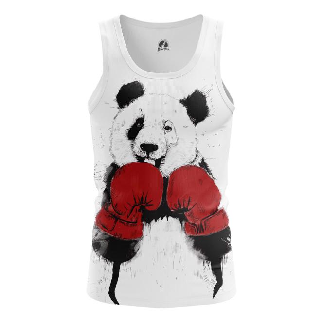 Мужская Майка Медведь боксер - купить в teestore