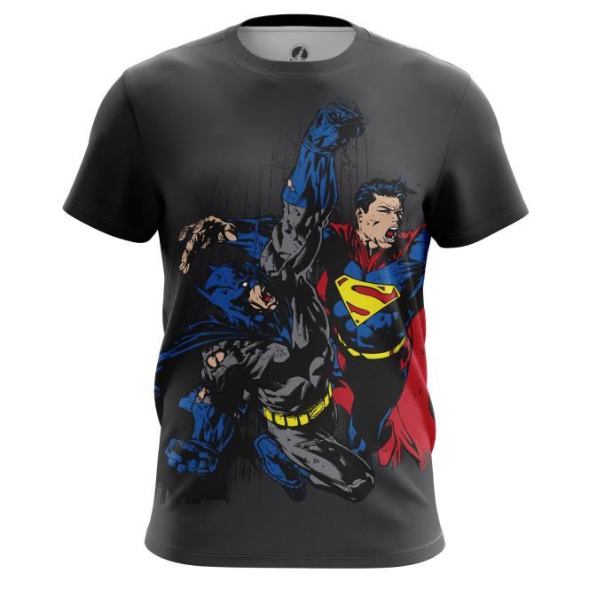 Футболка Бэтмен против Супермена - купить в teestore. Доставка по РФ