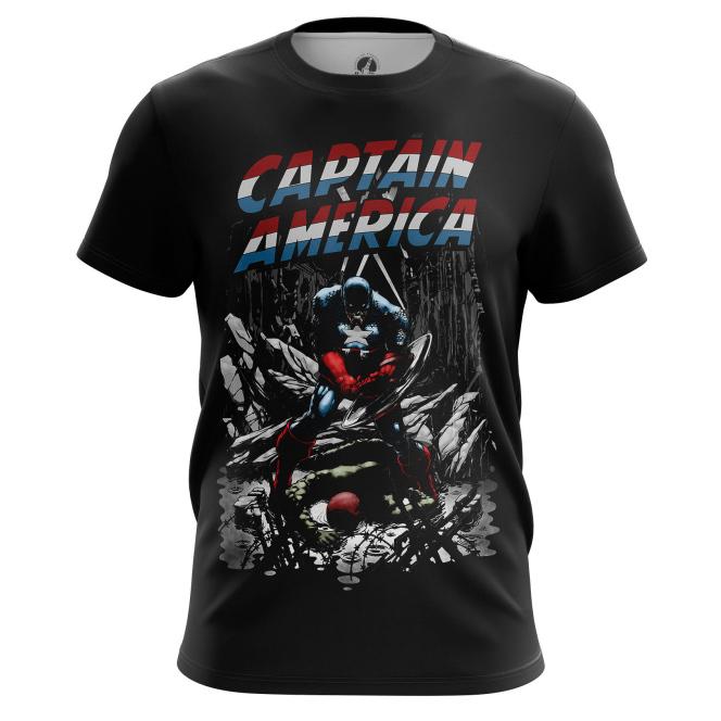 Футболка Капитан Америка Гражданская война - купить в teestore. Доставка по РФ