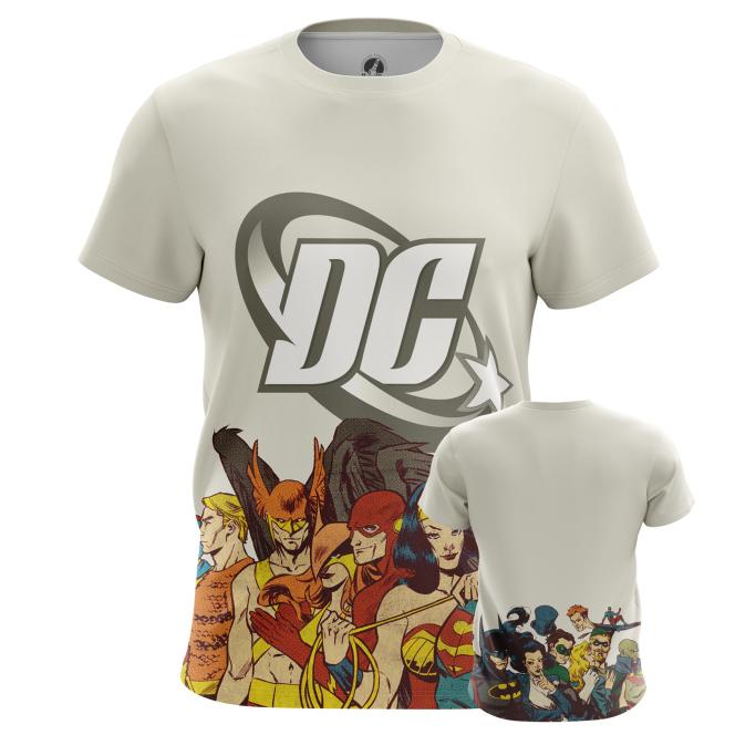 Футболка DC comics - купить в teestore. Доставка по РФ