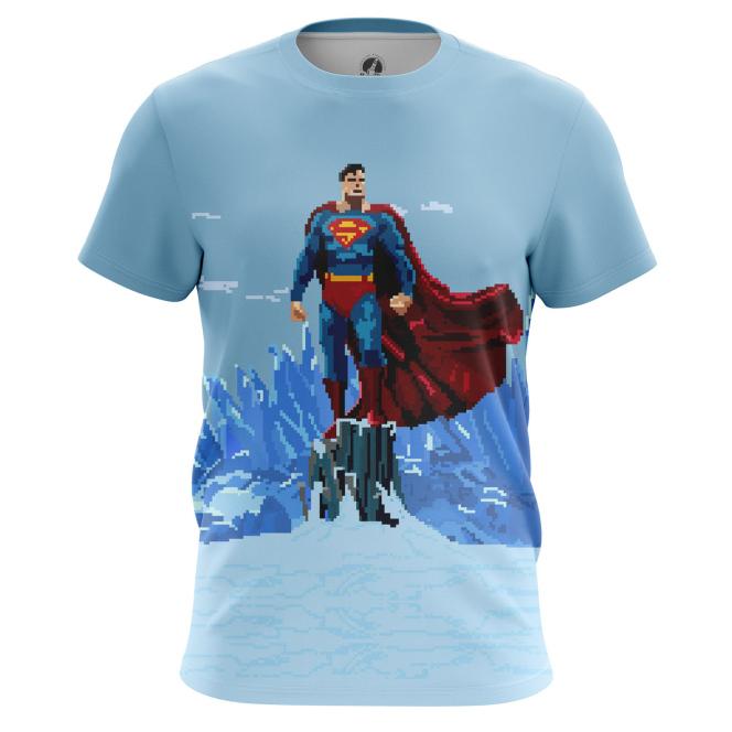 Футболка Pixel Superman - купить в teestore. Доставка по РФ