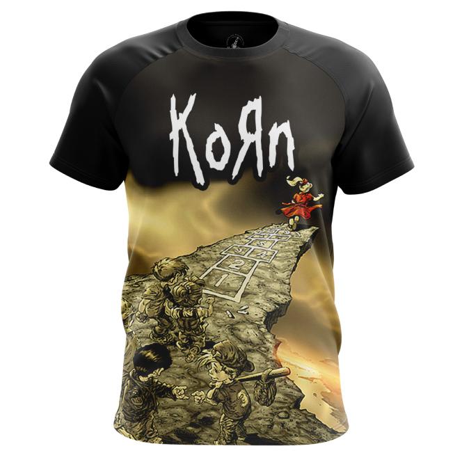 Футболка Korn - Follow the Leader - купить в teestore. Доставка по РФ