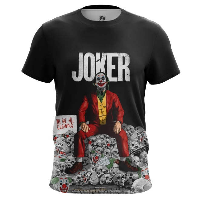 Футболка Joker smile - купить в teestore. Доставка по РФ