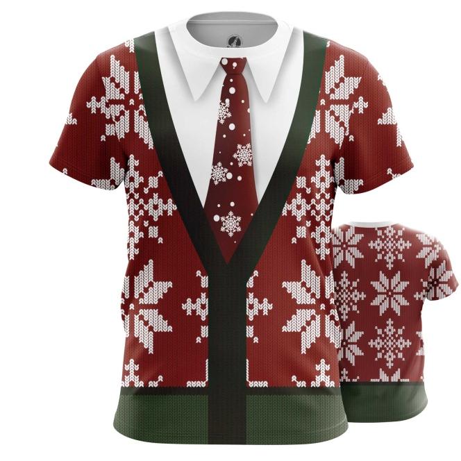 Футболка Новогодний свитер - купить в teestore. Доставка по РФ