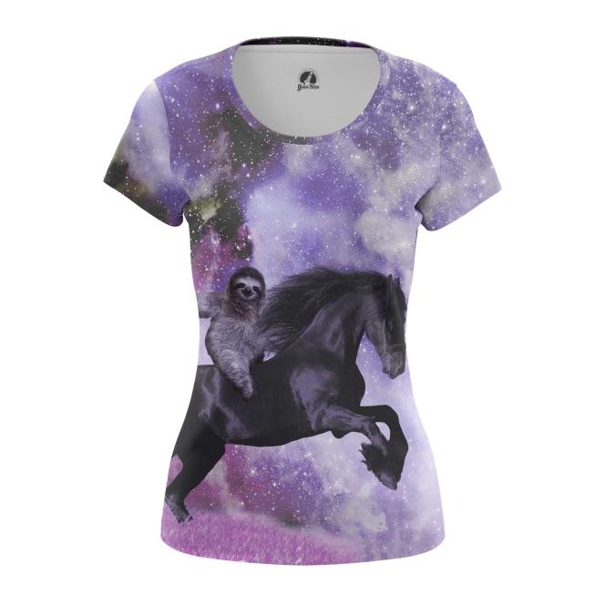 Женская футболка Cowboy Sloth  купить