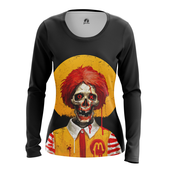 Женский Лонгслив Dead Ronald - купить в teestore