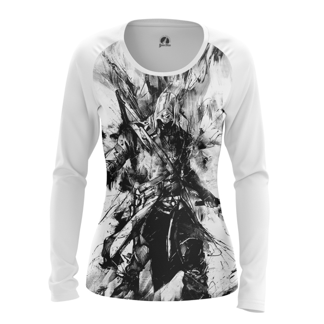 Женский Лонгслив Assassin's Creed - купить в teestore