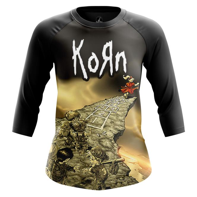 Женский реглан Korn - Follow the Leader