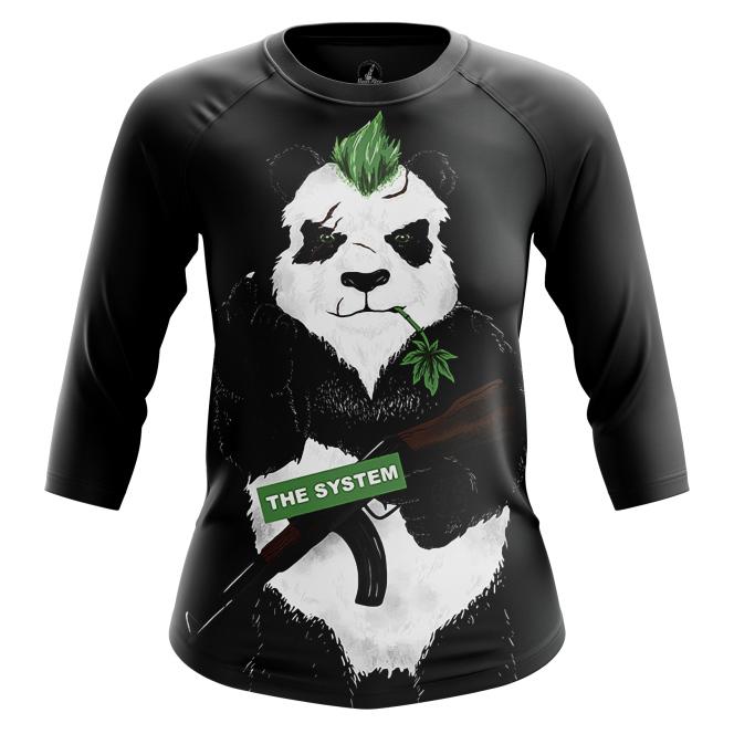Женский Реглан 3/4 Bad panda - купить в teestore