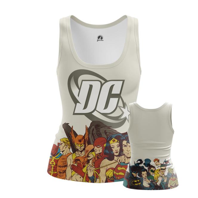 Женская Майка DC comics - купить в teestore