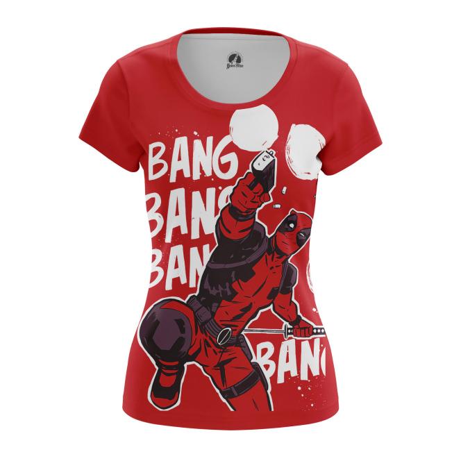 Женская Футболка Bang Bang - купить в teestore