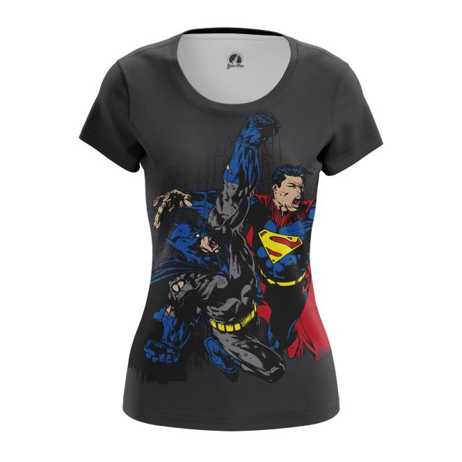 Женская Футболка Бэтмен против Супермена - купить в teestore