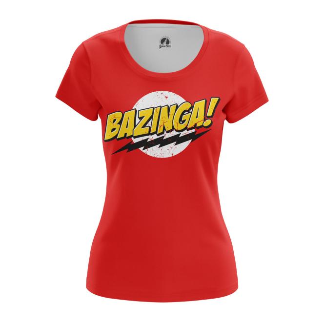 Женская Футболка Bazinga - купить в teestore