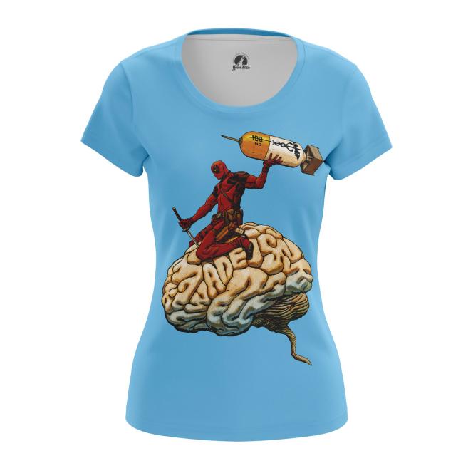 Женская Футболка Мозг - купить в teestore