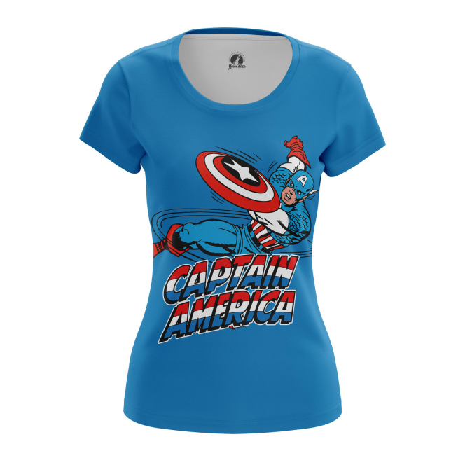 Женская Футболка Капитан - купить в teestore