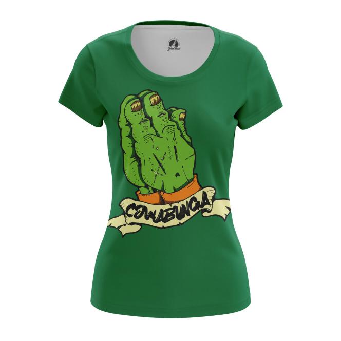 Женская Футболка Cowabunga - купить в teestore
