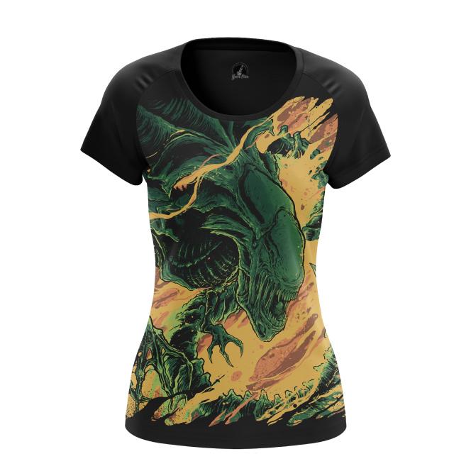 Женская футболка Alien  купить