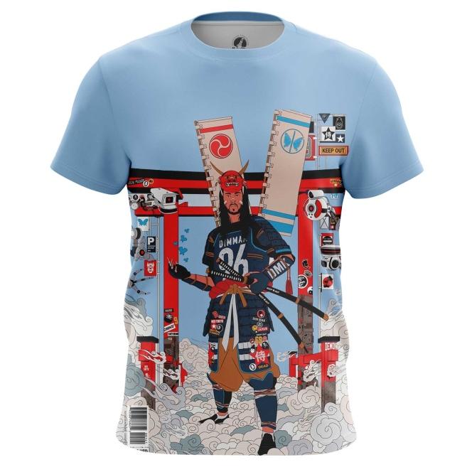 Футболка Cyber Samurai - купить в teestore. Доставка по РФ