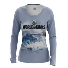 Женский Лонгслив World of Tanks - купить в teestore