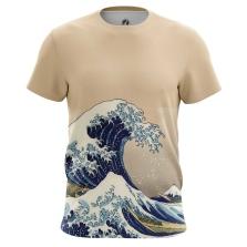 Футболка Большая волна в Канагаве - купить в teestore. Доставка по РФ