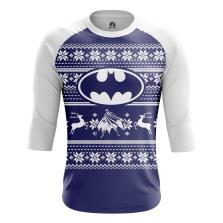 Мужской Реглан 3/4 Christmas Bats - купить в teestore