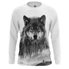 Мужской Лонгслив Волк - купить в teestore