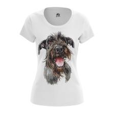 Женская Футболка Собака - купить в teestore