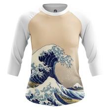 Женский Реглан 3/4 The Great Wave of Kanagawa - купить в teestore