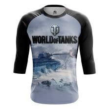 Мужской Реглан 3/4 World of Tanks - купить в teestore