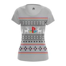 Женская Футболка Playstation - купить в teestore