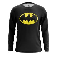 Мужской Лонгслив Бэтмен лого - купить в teestore