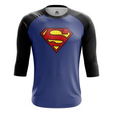 Мужской Реглан 3/4 Superman - купить в teestore