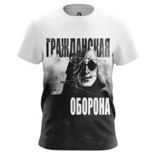 Футболка Гражданская оборона - купить в teestore. Доставка по РФ