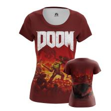 Женская Футболка Doom - купить в teestore