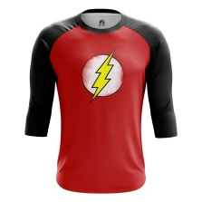 Мужской Реглан 3/4 Sheldon's Flash - купить в teestore