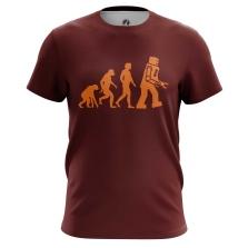 Футболка Evolution - купить в teestore. Доставка по РФ