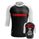 Футболка Coronavirus World Tour - купить в teestore. Доставка по РФ
