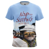 Футболка Nap and sleeping in Las Vegas - купить в teestore. Доставка по РФ
