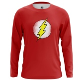 Мужской Лонгслив Sheldon's Flash - купить в teestore