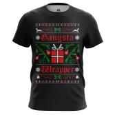 Футболка Gangsta Xmas - купить в teestore. Доставка по РФ