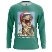 Мужские Футболки Christmasaurus Rex. Доставка по всей России