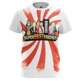 Футболка Super Best Friends купить
