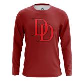 Мужской Лонгслив Daredevil logo  - купить в teestore