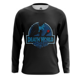 Мужской Лонгслив Death World - купить в teestore