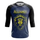 Мужской Реглан 3/4 Alliance - купить в teestore