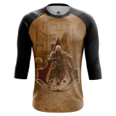 Мужской Реглан 3/4 Assassin's Creed 3 - купить в teestore