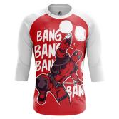 Мужской Реглан 3/4 Bang Bang - купить в teestore