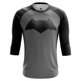 Мужской Реглан 3/4 Batman logo - купить в teestore