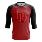 Мужской Реглан 3/4 Daredevil logo  - купить в teestore